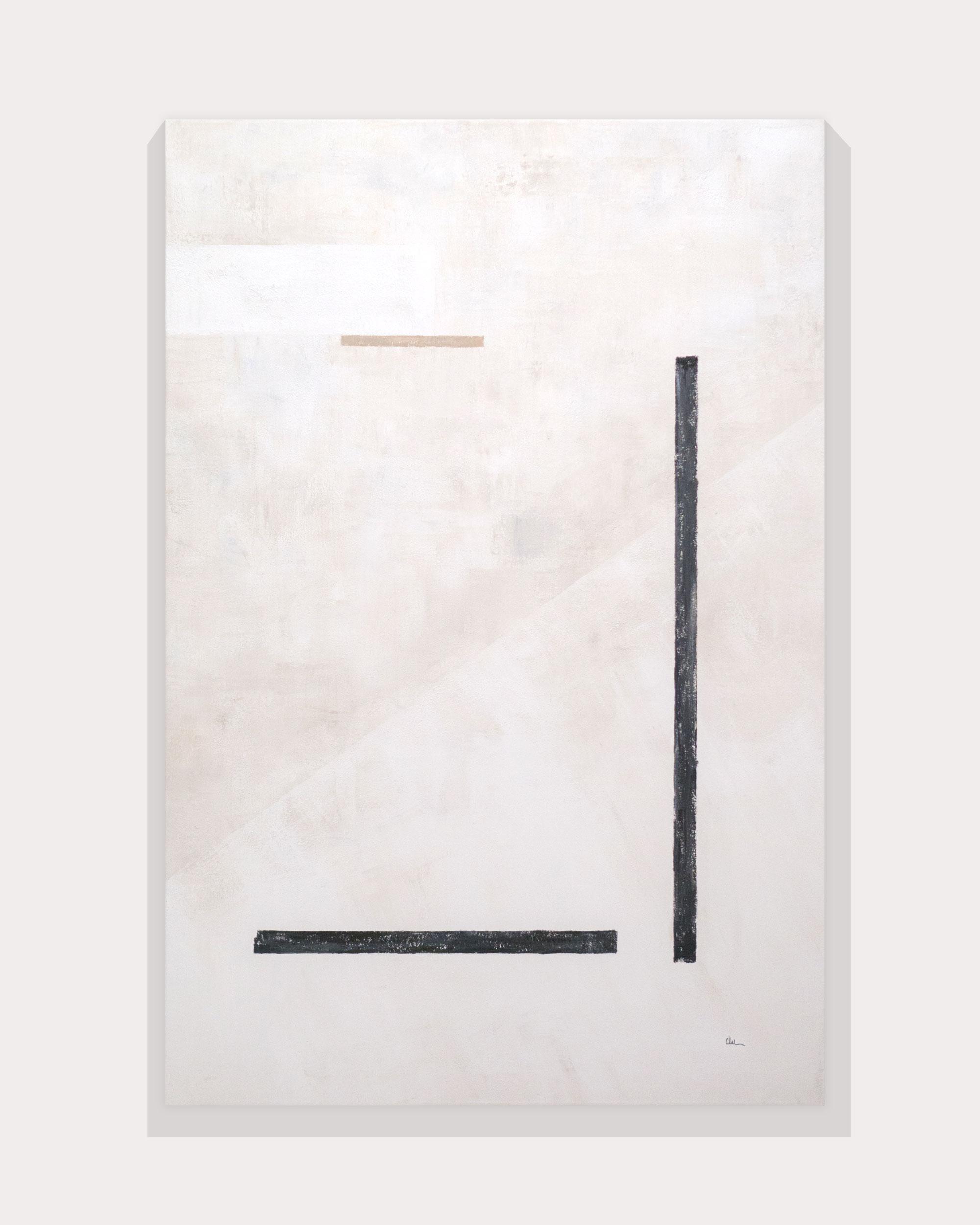 Cuadro Elementos I en pared