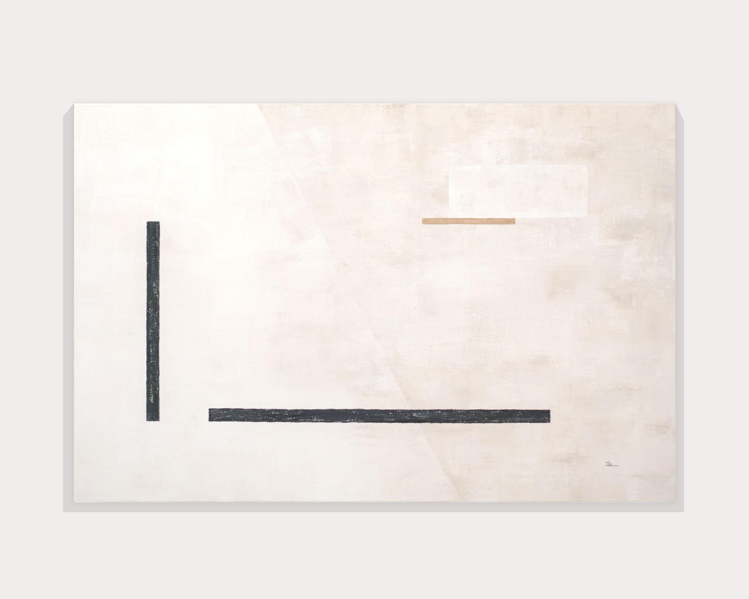 Cuadro Elementos II en pared