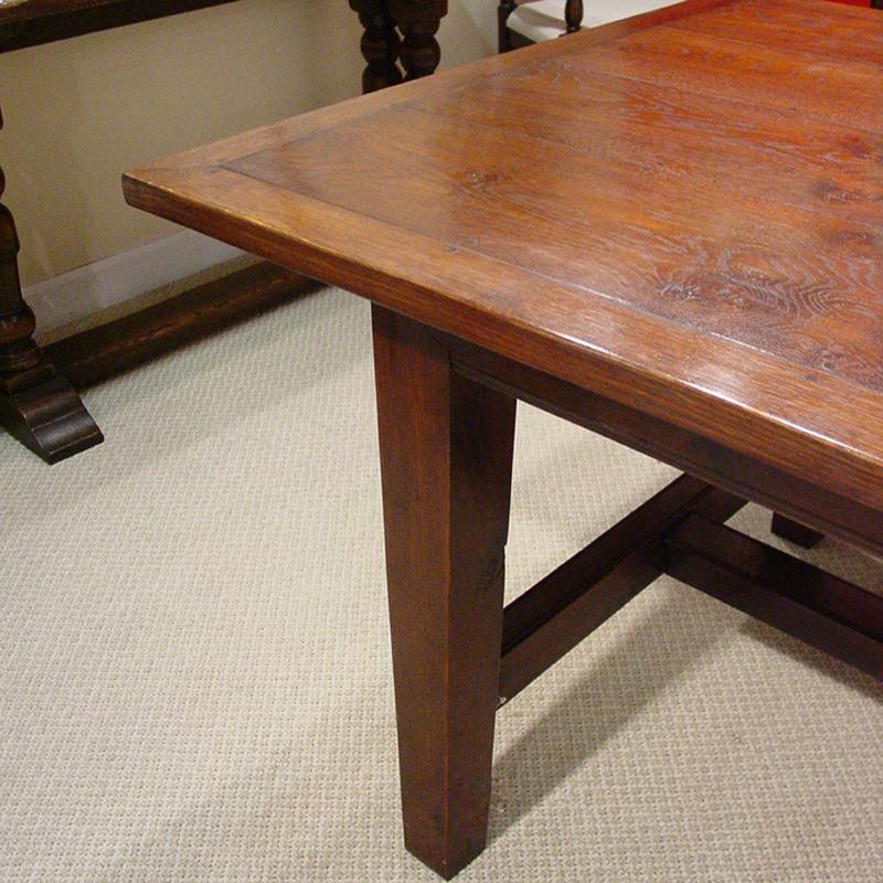 Oak Farmhouse Table