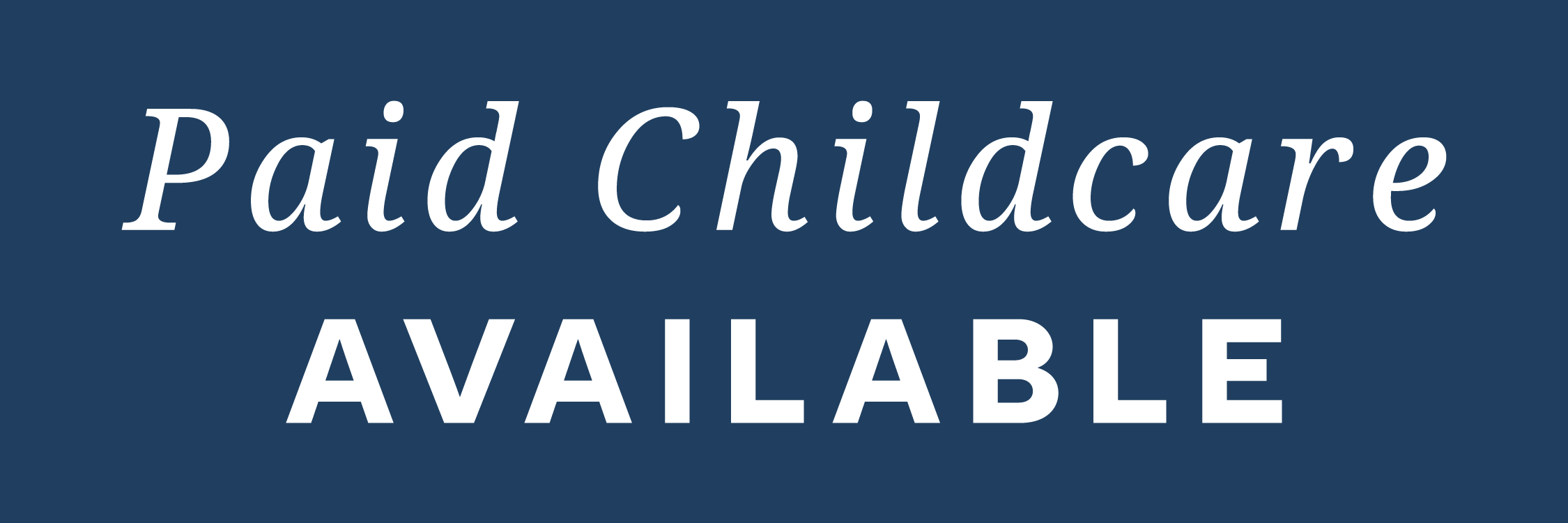 Small Group Child Care Badge