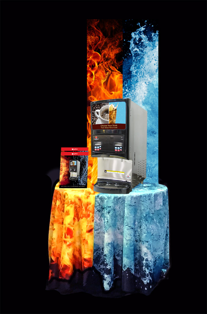 Hot and Cold Product Display