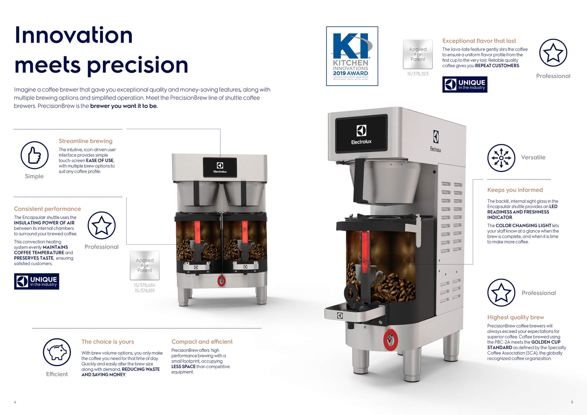 Electrolux PrecisionBrew Brochure