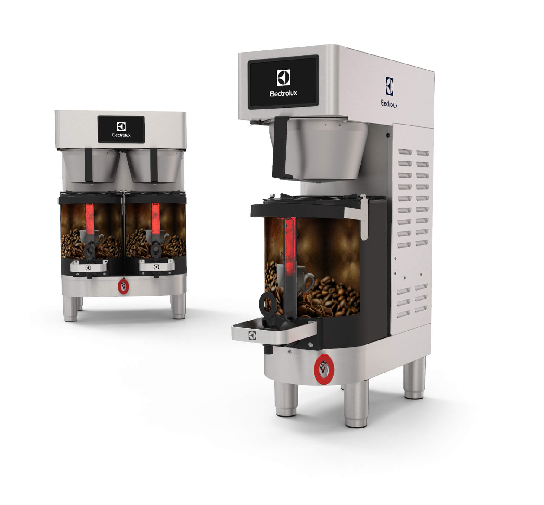 Electrolux PrecisionBrew 3D Product Renders