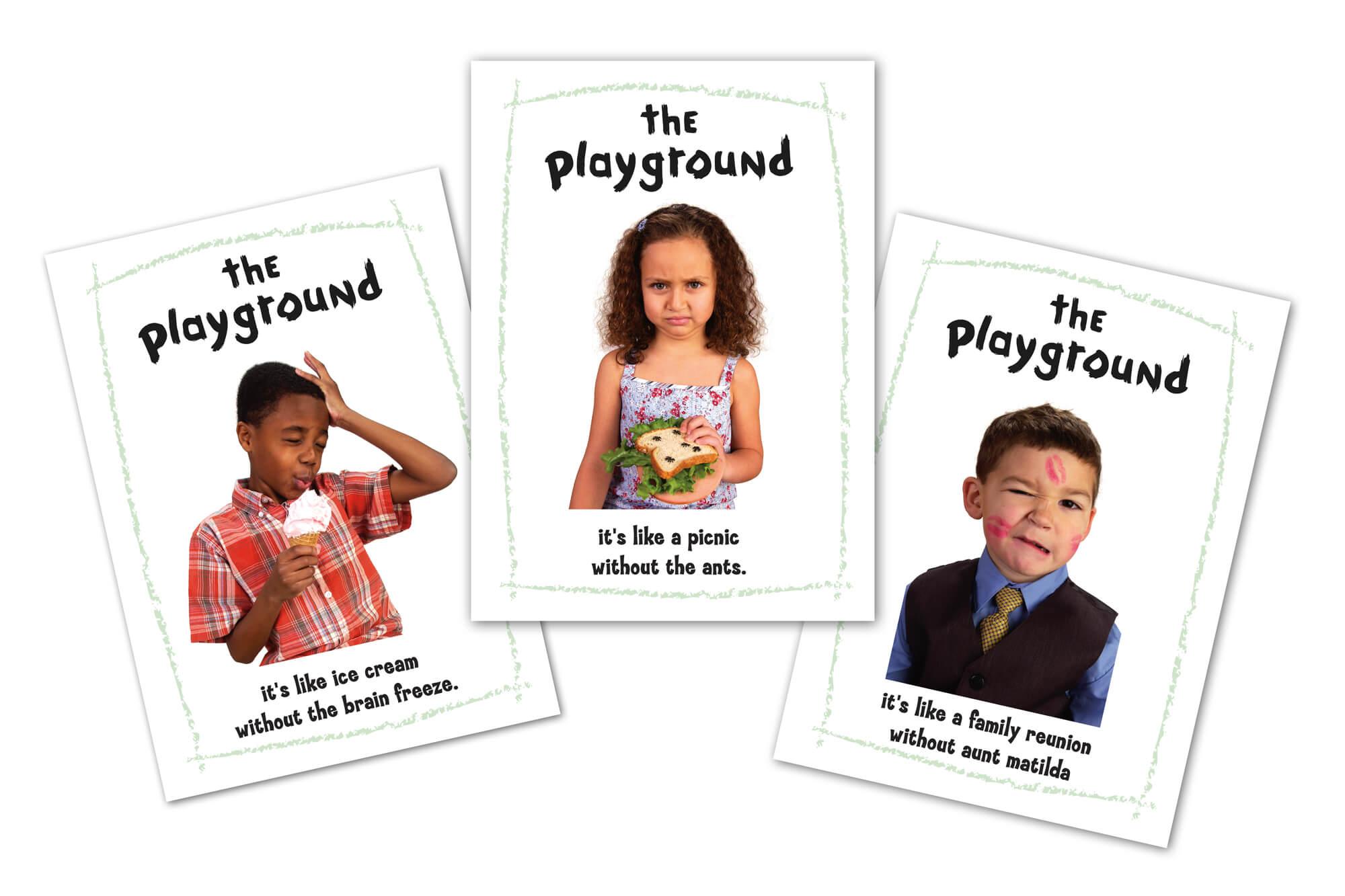 The Playground Postcards