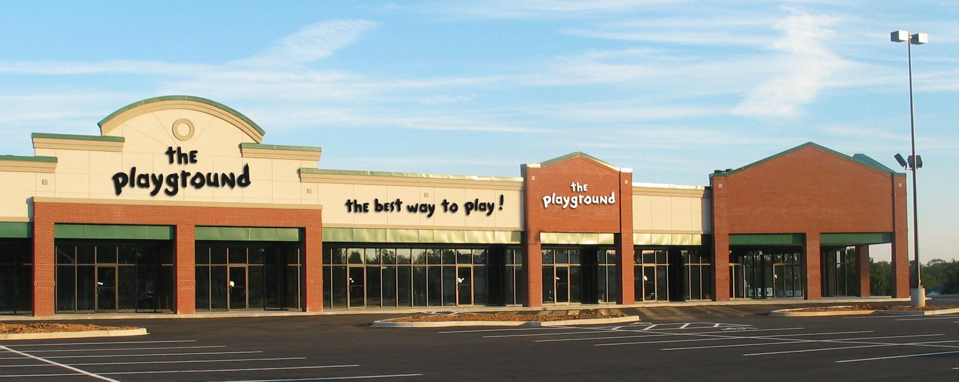 The Playground Exterior Signage