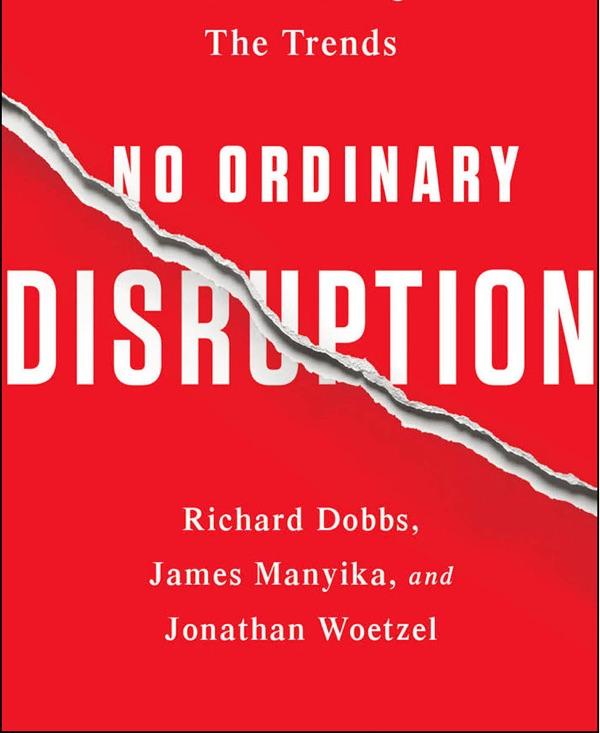 No Ordinary Disruption Book Cover