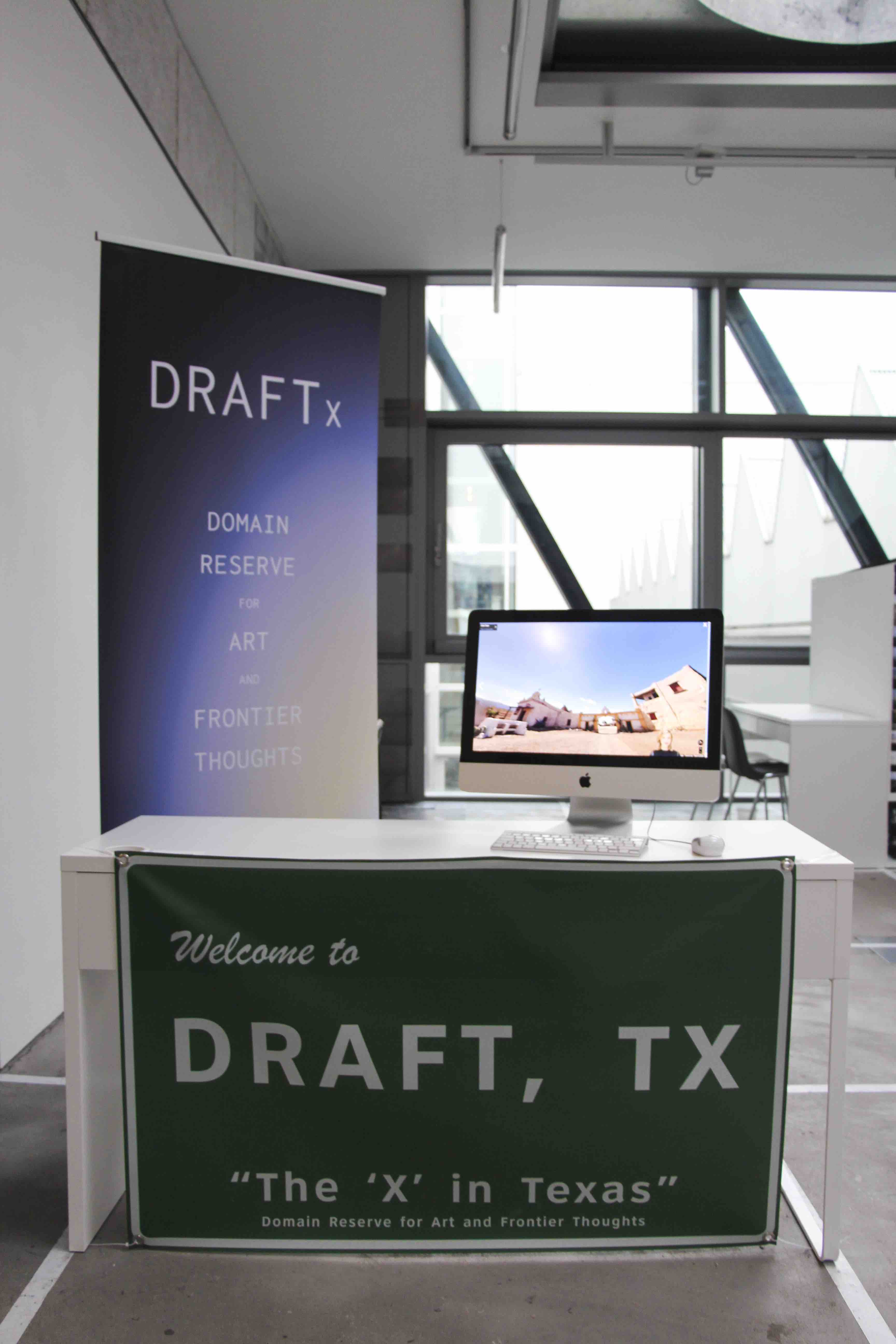 The DRAFTx [beta] booth in London, 2017