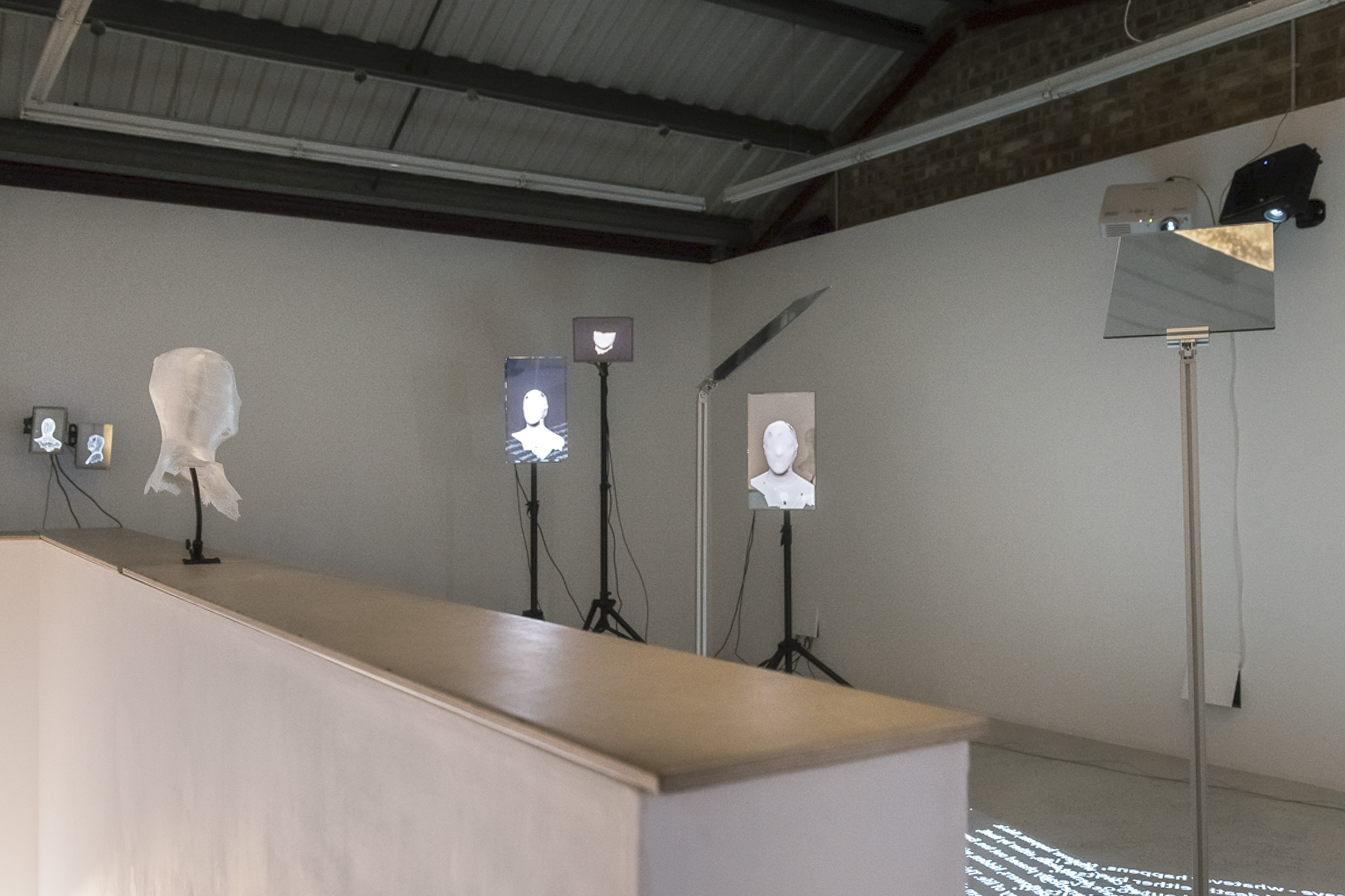 """Installation view of """"Cacotopia 03: Johanna Flato"""" at Annka Kultys Gallery, London, 2019 (photo courtesy of Annka Kultys Gallery)"""