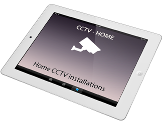 A clickable photo of home CCTV installations