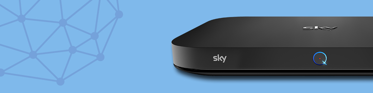 A Picture of Sky Q Box