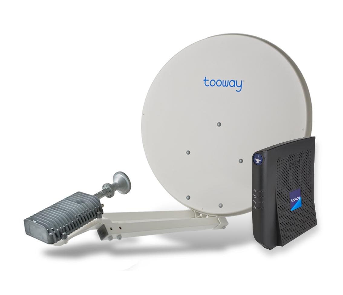 Tooway satellite broadband