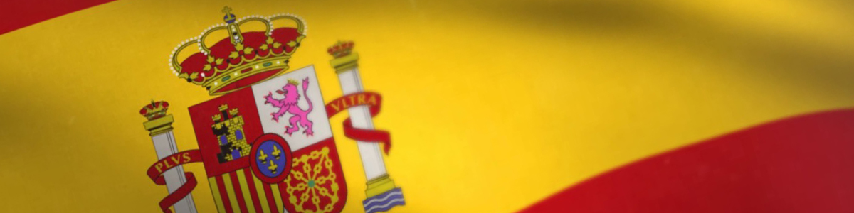 Spanish Flag For Spanish TV