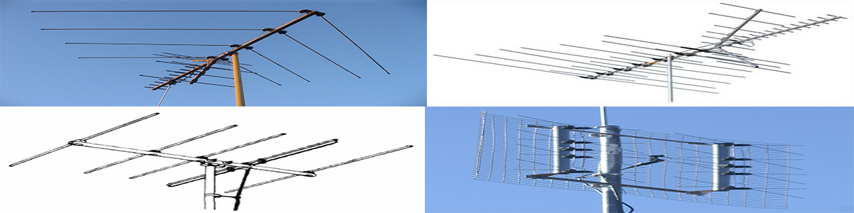 Four Different Aerials