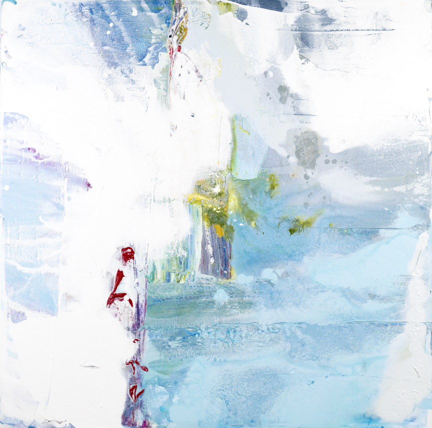 Abstract painting by John Schuyler