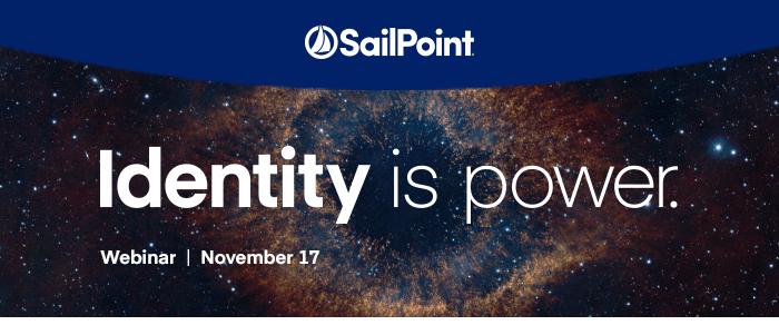Webinar SailPoint - Identidades, el poder para ganar! (Grabación)