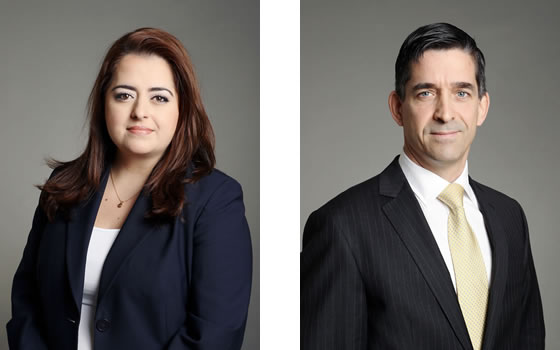 Maria Karteris et Jean-François Latreille