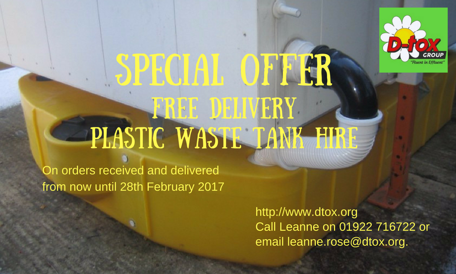 Portable toilet and effluent tank hire