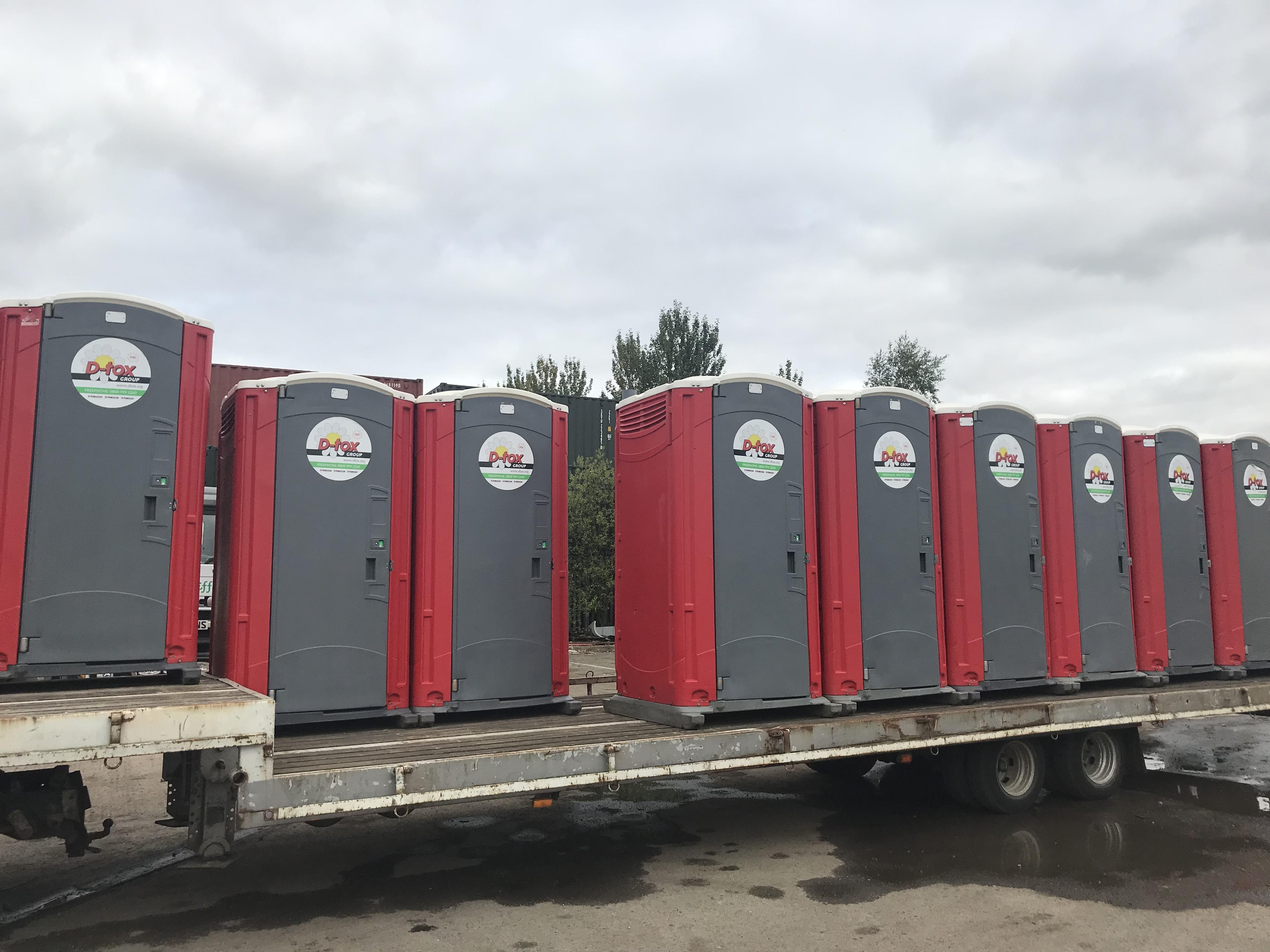 toilet hire for music festivals around the Midlands region