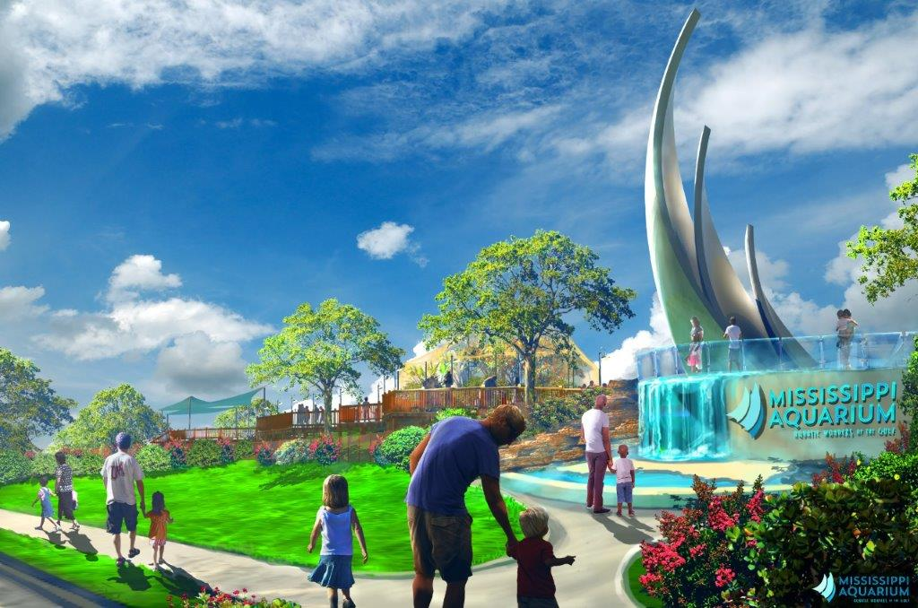 mississippi aquarium coming to gulfport in late 2019 or early 2020