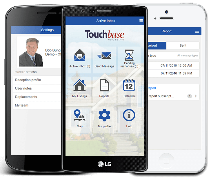touchbase sm2 smartphone application
