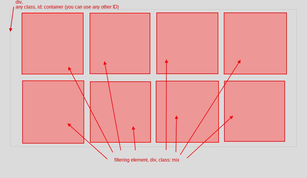 mixitup-filtering - Webflow