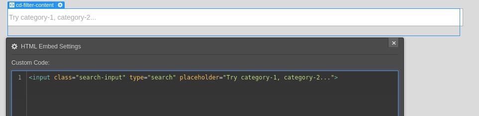 mixitup-plugin select