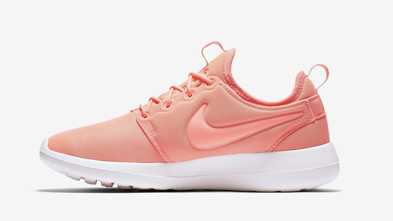 0b4d5d0a017 Nike Roshe Two Womens - Atomic Pink   Sail-Orange
