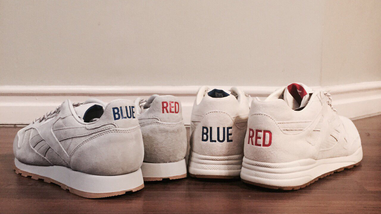 "cd3ef07cf67 The Finishing Touch to the Reebok x KL ""Red and Blue"" Capsule Collection"