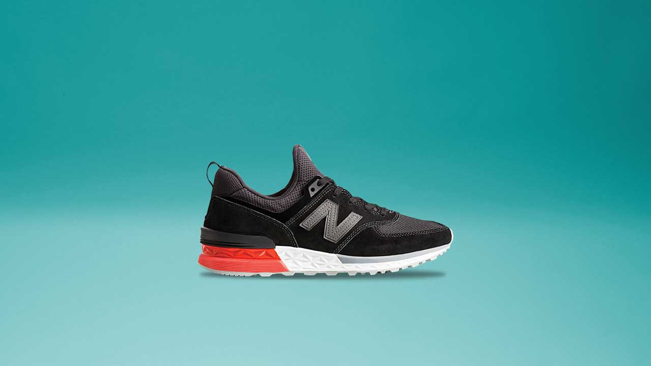 new product eecf8 6e9ac Cop The New Balance 574 Sport This Saturday