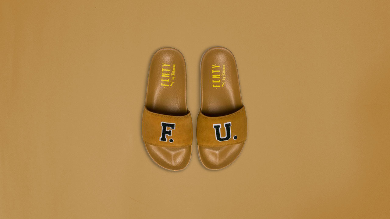 05a5c305f83e91 Unboxing the Puma x Rihanna FENTY University Unisex Slide