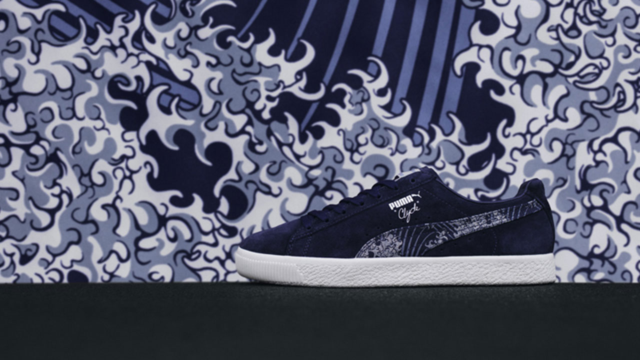 buy online 066ca 0c483 Here s a closer look at these highly artistic offerings  The PUMA Marine  Pack is ...