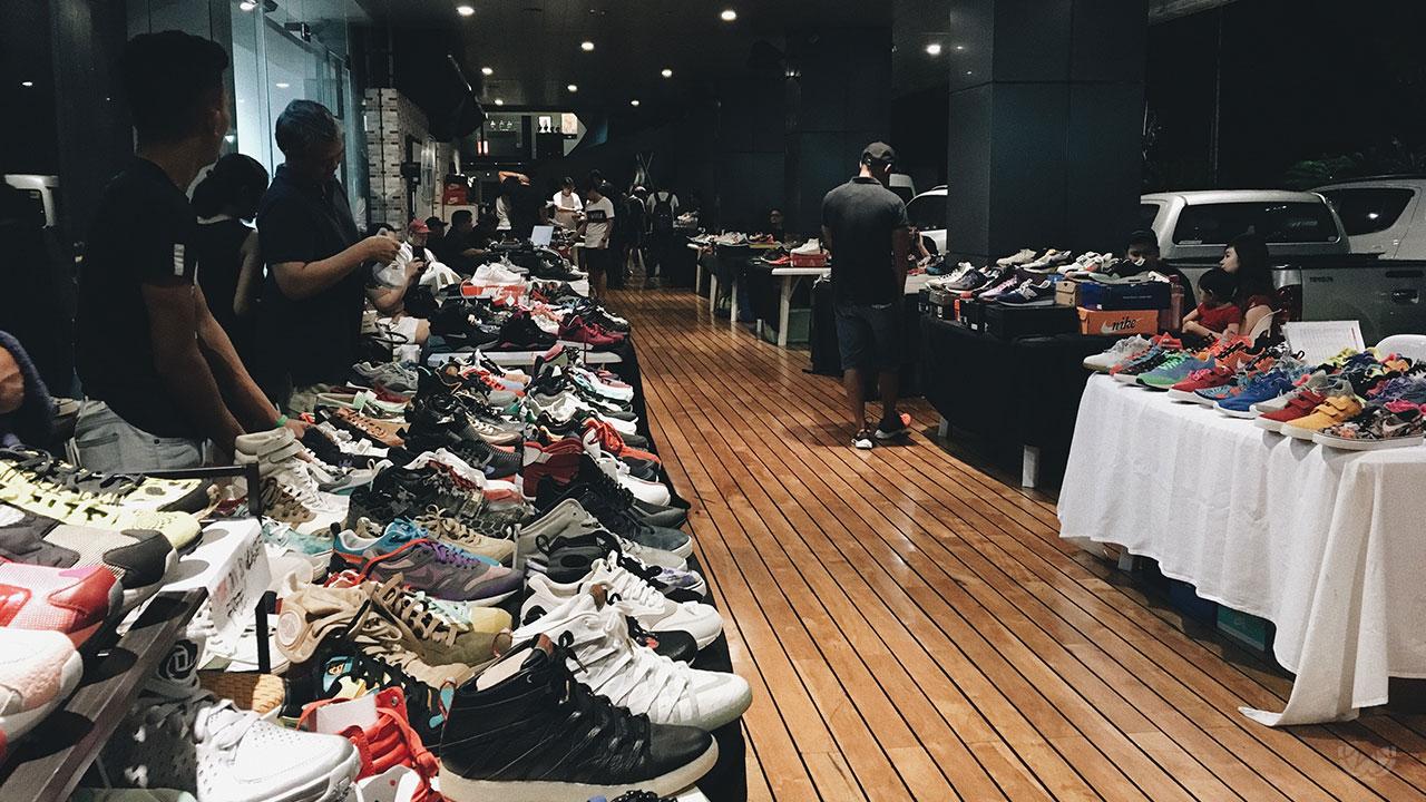 Mj46 Center X Secret Fresh Sneaker Garage Sale
