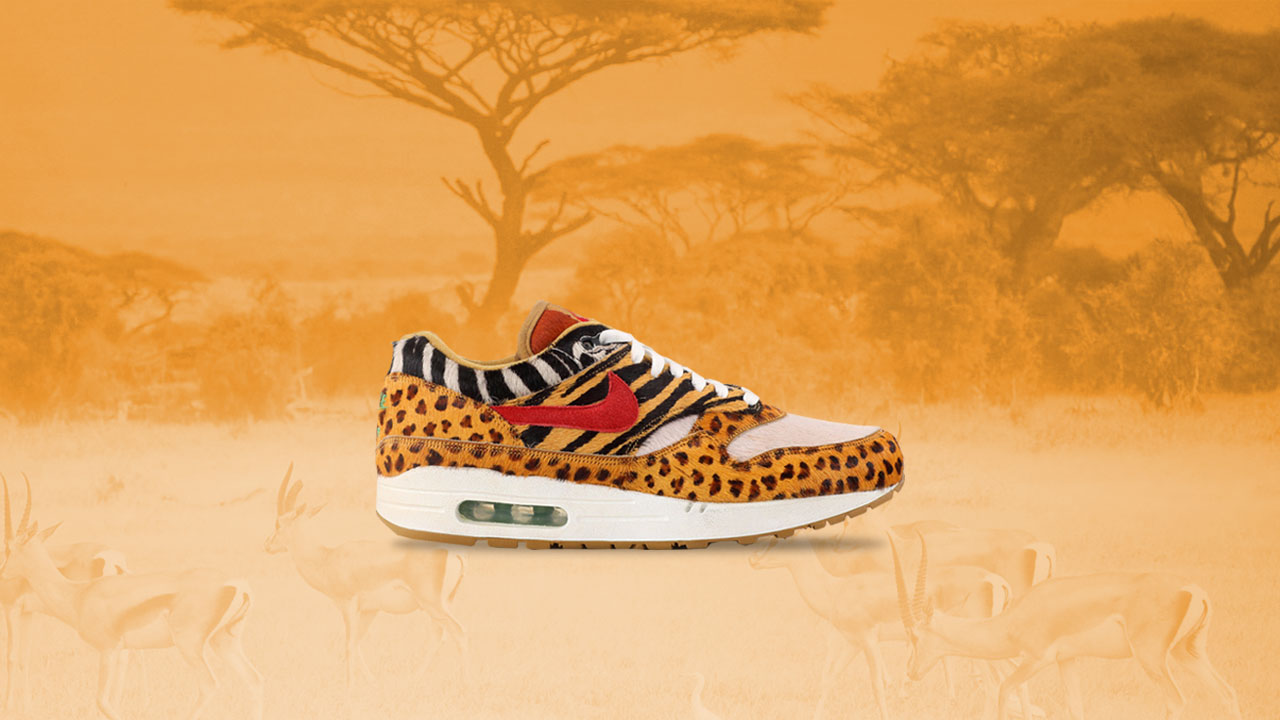 f71d730feae0fa atmos x Nike Air Max 1 Animal Pack Public Raffle Release at Sole Academy