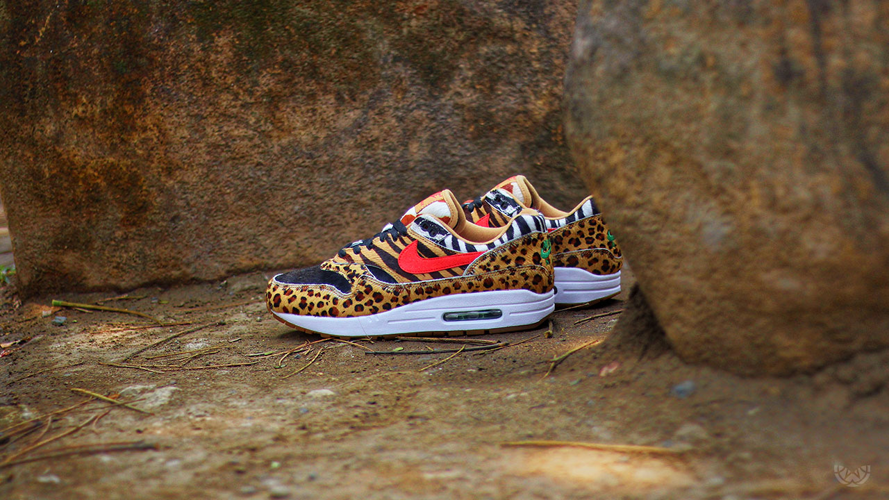 """new style 751d9 54d6f For those who weren t able to reserve the coveted atmos x Nike Air Max 1  """"Animal Pack"""" via the Think Tank Passport, a public raffle will open  tonight, ..."""