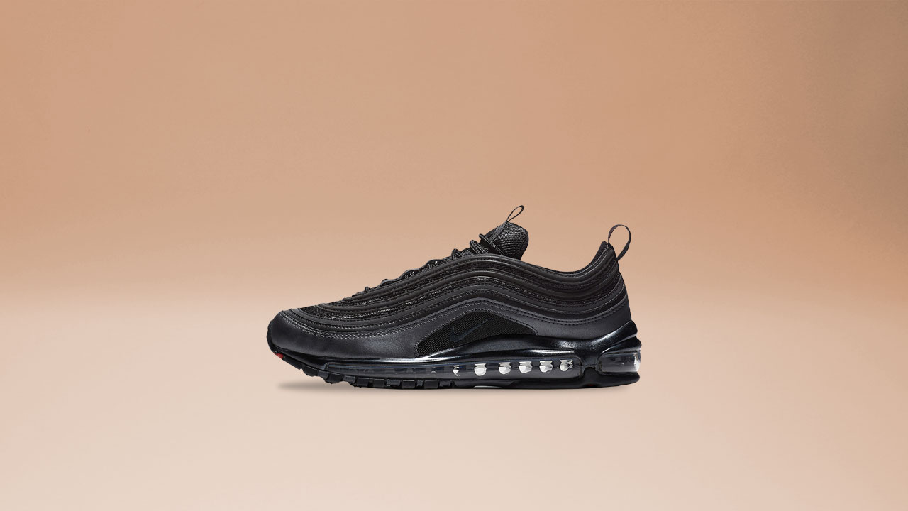 finest selection 5edd5 3fcb2 ‍Men s Nike Air Max 97   921826-005   Black Anthracite-Mettalic Hematite-Dark  Grey