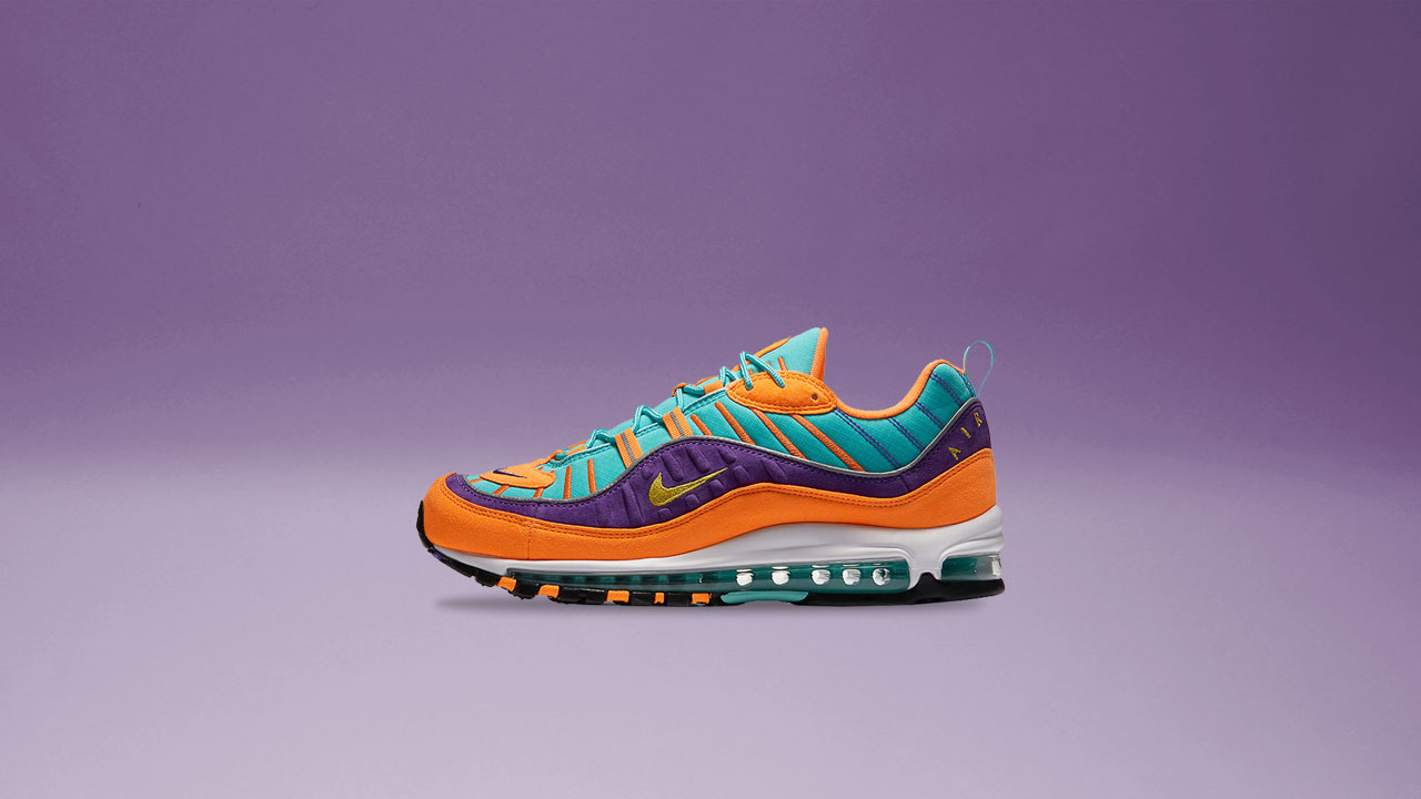 The Air Max 98 Strikes in