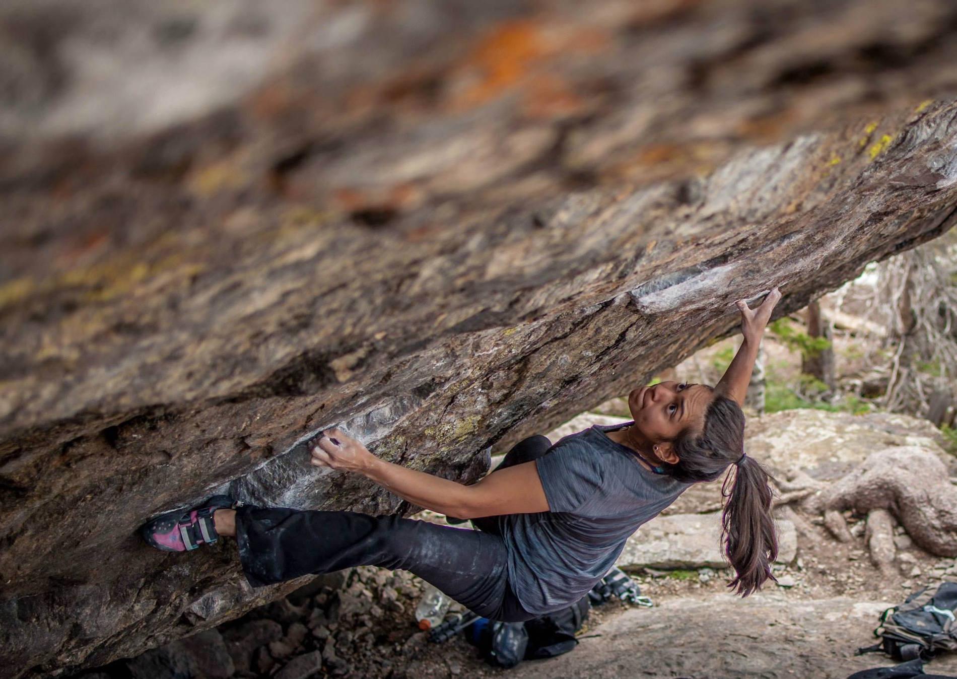 Juliet Hammer Rock Climbing