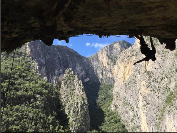 Hector Lopez Rock Climbing