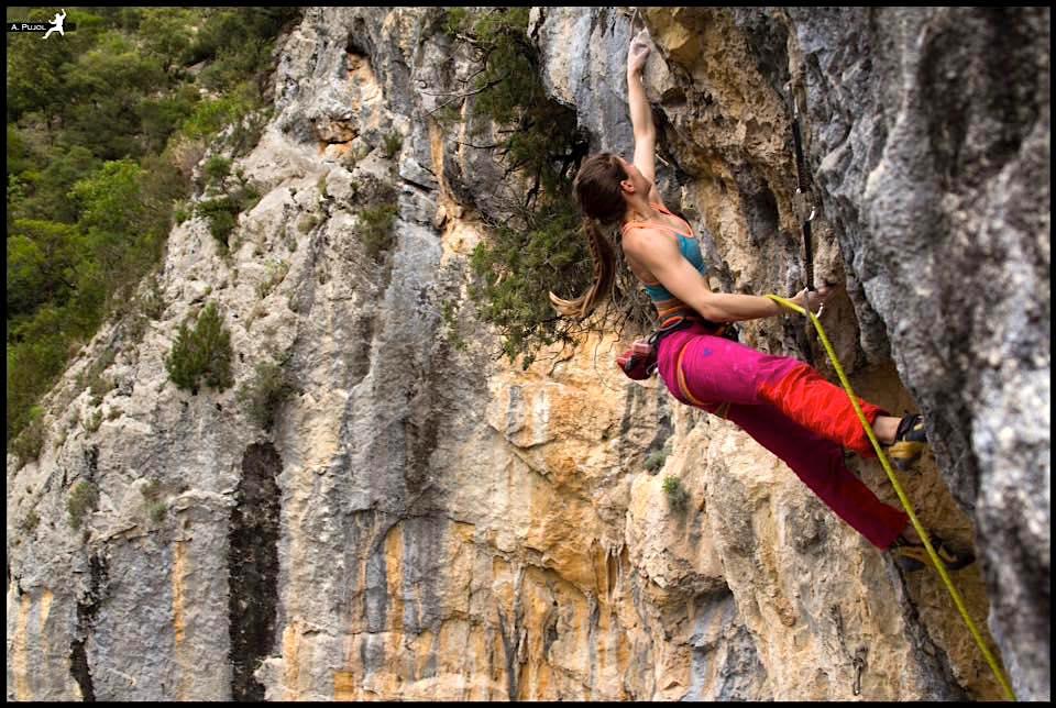 Prudence Morgan-Wood Rock Climbing