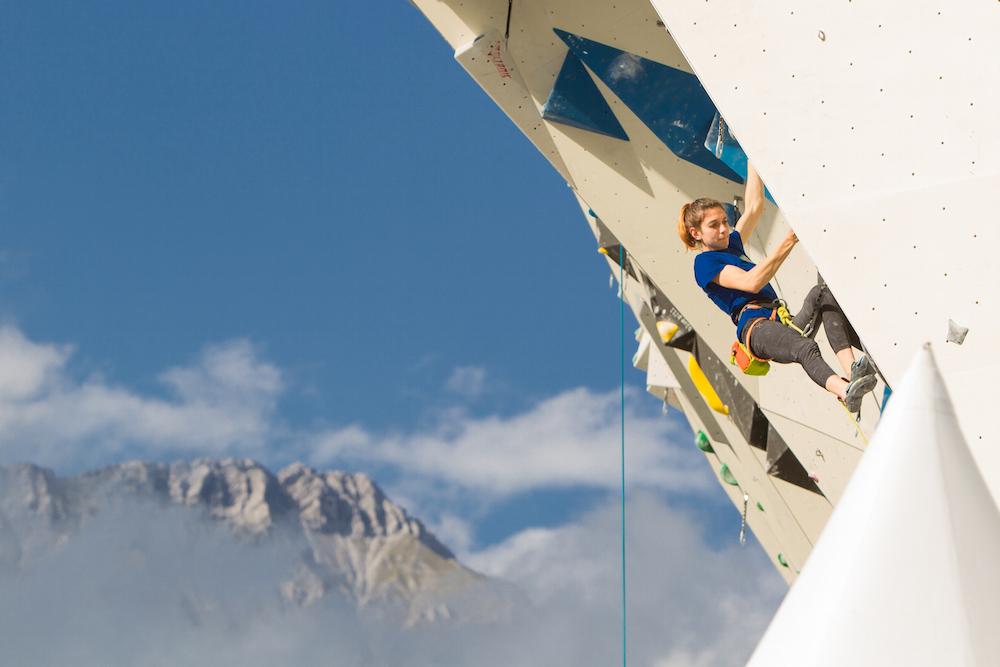 FrictionLabs Athlete Lisa De Martini Rock Climbing