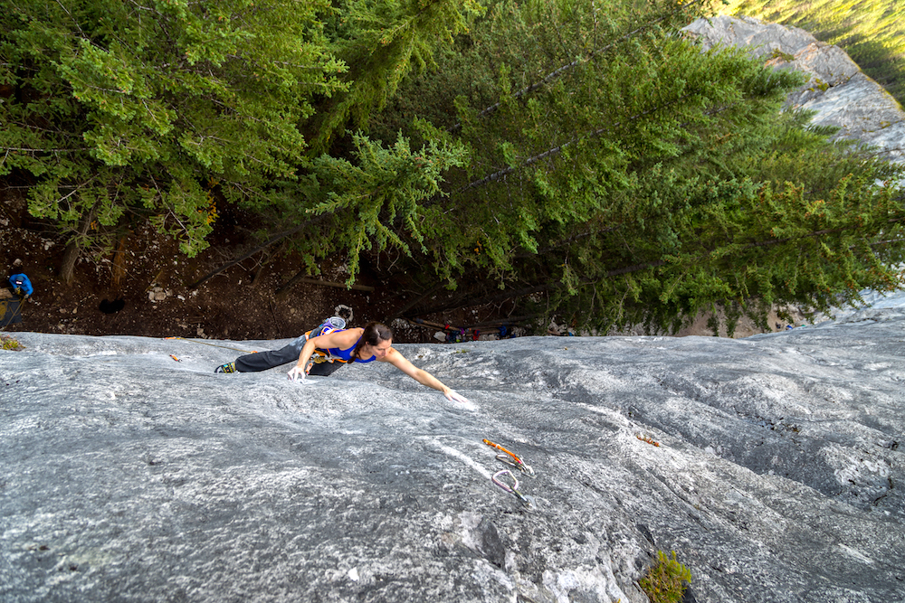 Regan Kennedy Rock Climbing
