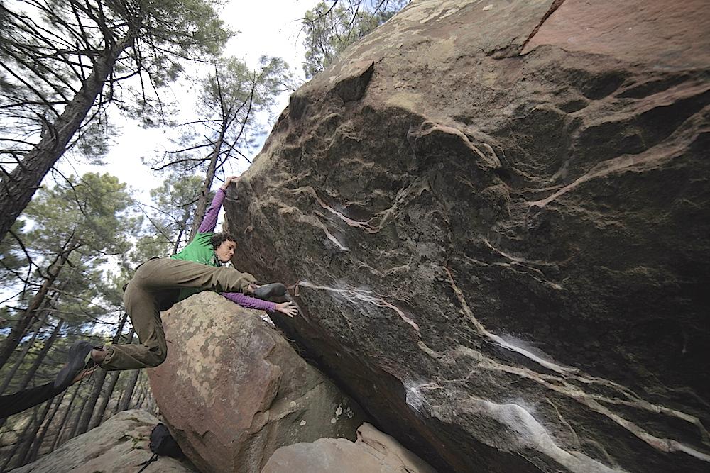 FrictionLabs Athlete Shirleys Noriega Rock Climbing