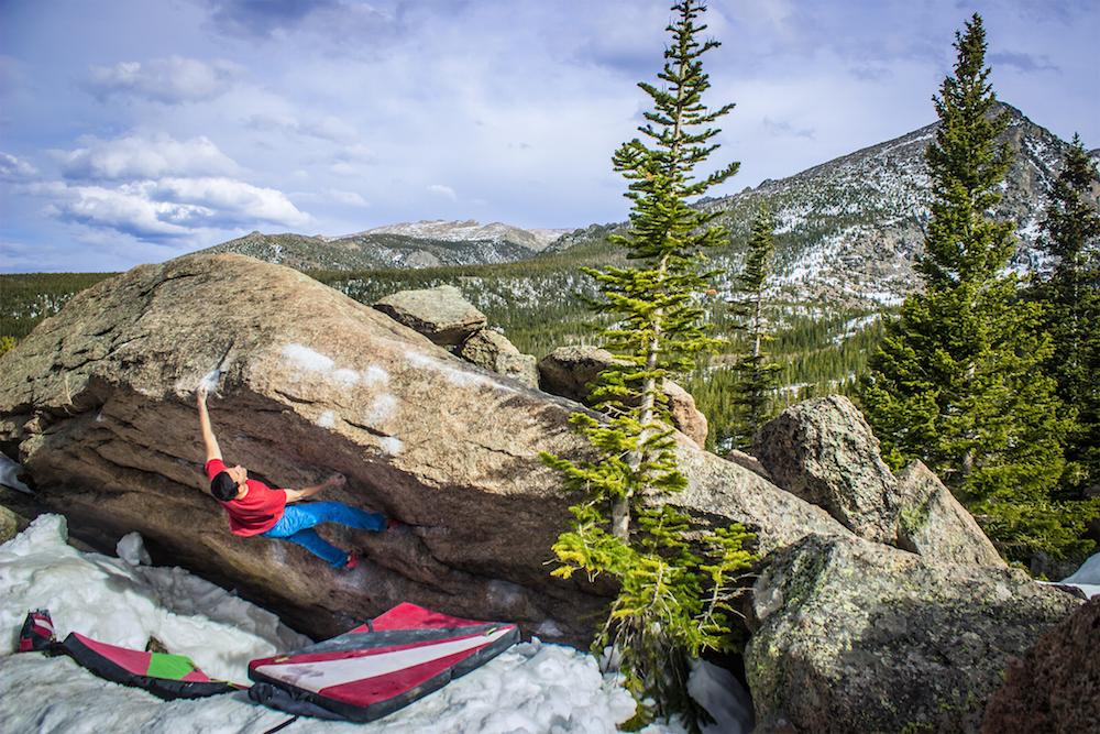 FrictionLabs Athlete Cesar Valencia Rock Climbing