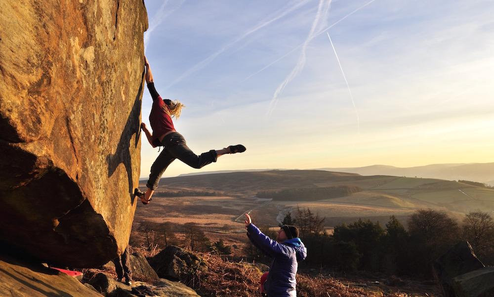 FrictionLabs Athlete Michaela Tracy Rock Climbing