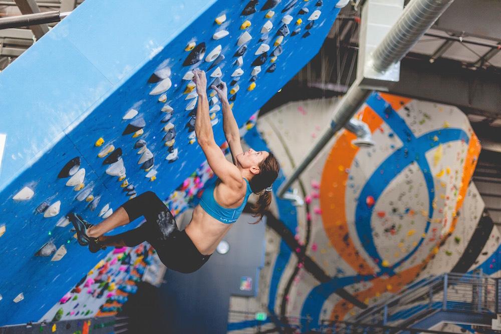 FrictionLabs Athlete Ann Raber Rock Climbing
