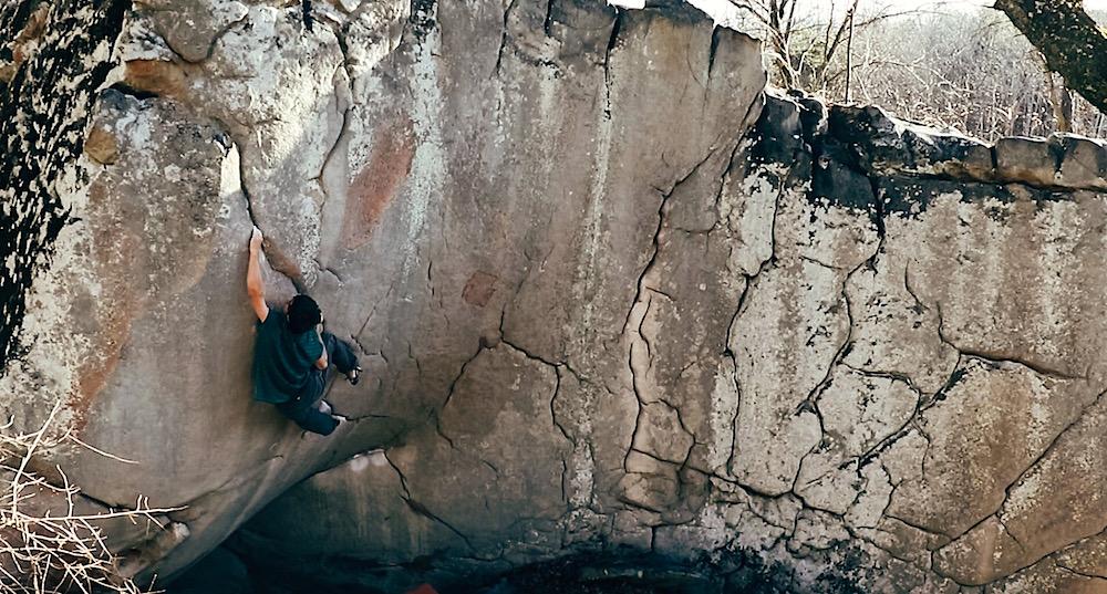 FrictionLabs Athlete Will Pair Rock Climbing The Shield (V12)
