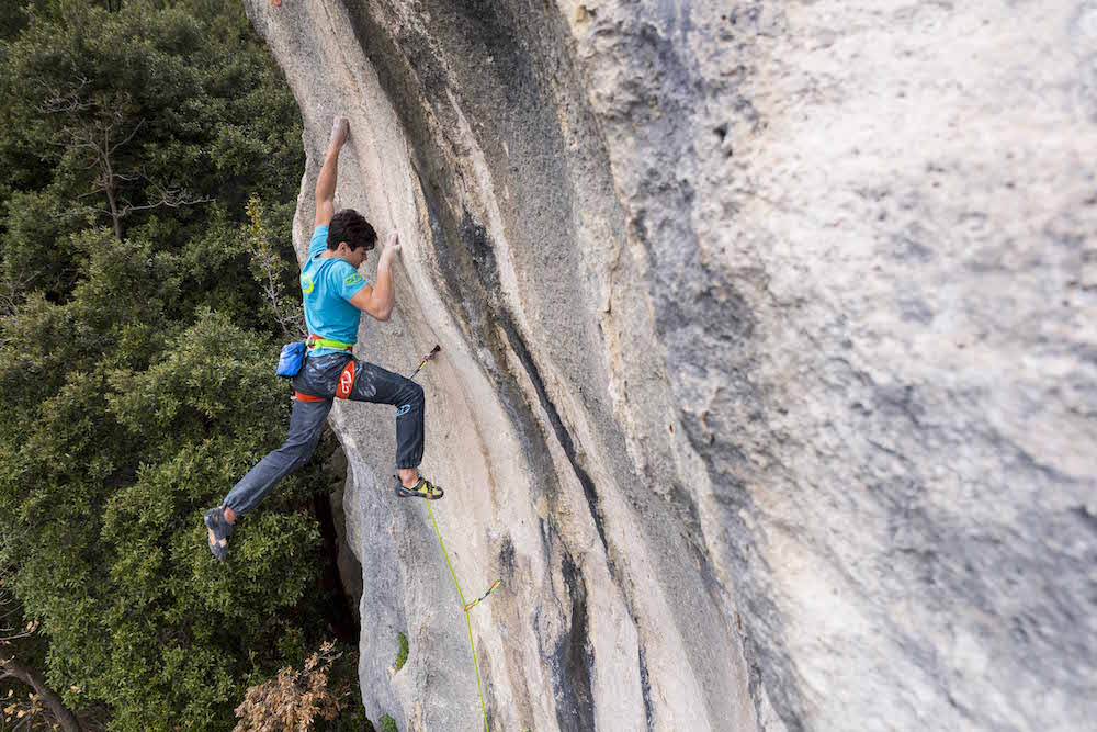 FrictionLabs Athlete Pietro Biagini Rock Climbing