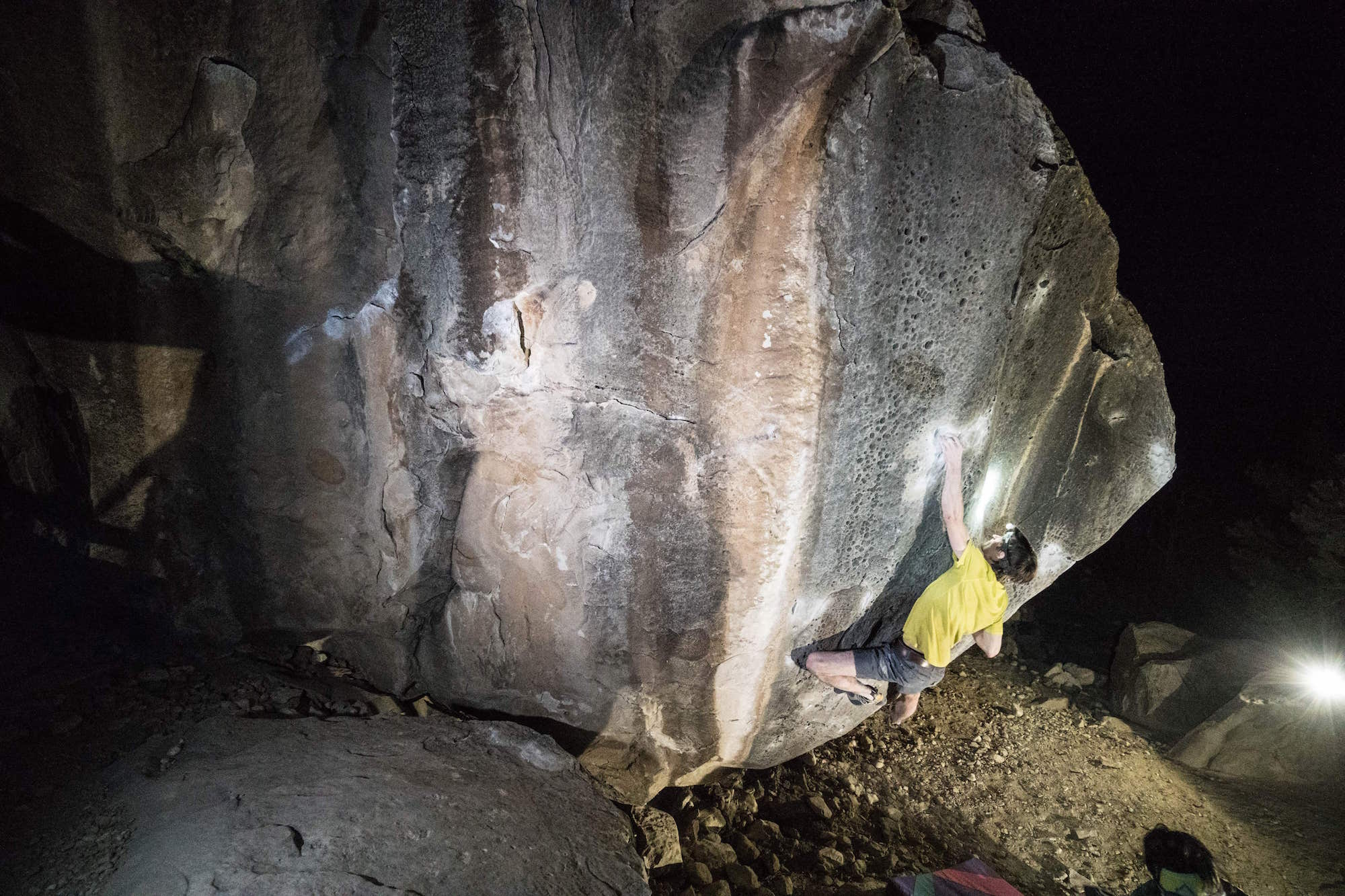 FrictionLabs Athlete Same Weir bouldering in Joe's Valley
