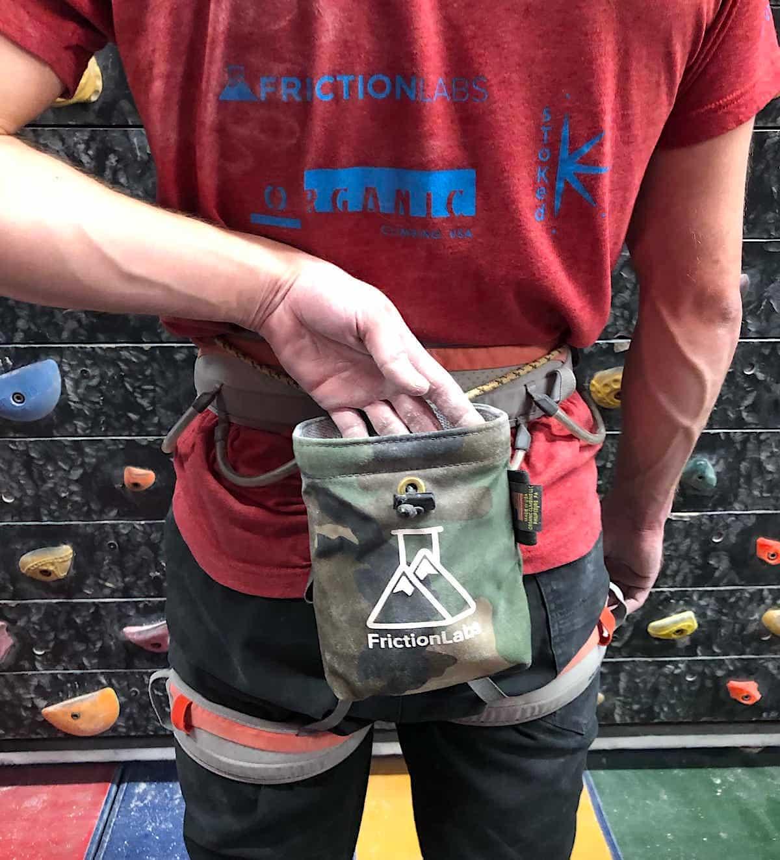Chalk Pod for Rock Climbing Rock Climbing Gifts L Size Climbers Bag Gift for Climbers Owl Chalk Bag Climbing Chalk Bag Bouldering
