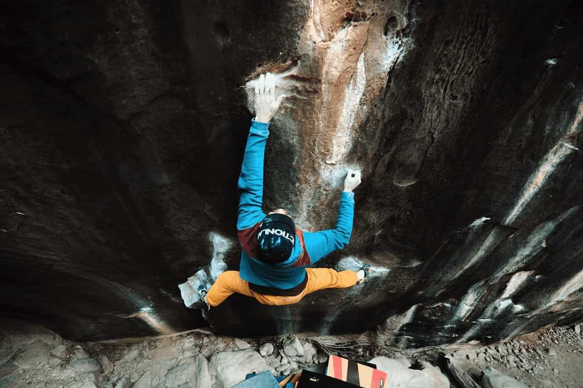 FrictionLabs Athlete Chris Healy Rock Climbing in Red Rock, Nevada